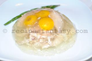 Chicken jelly - recipesfantasy com